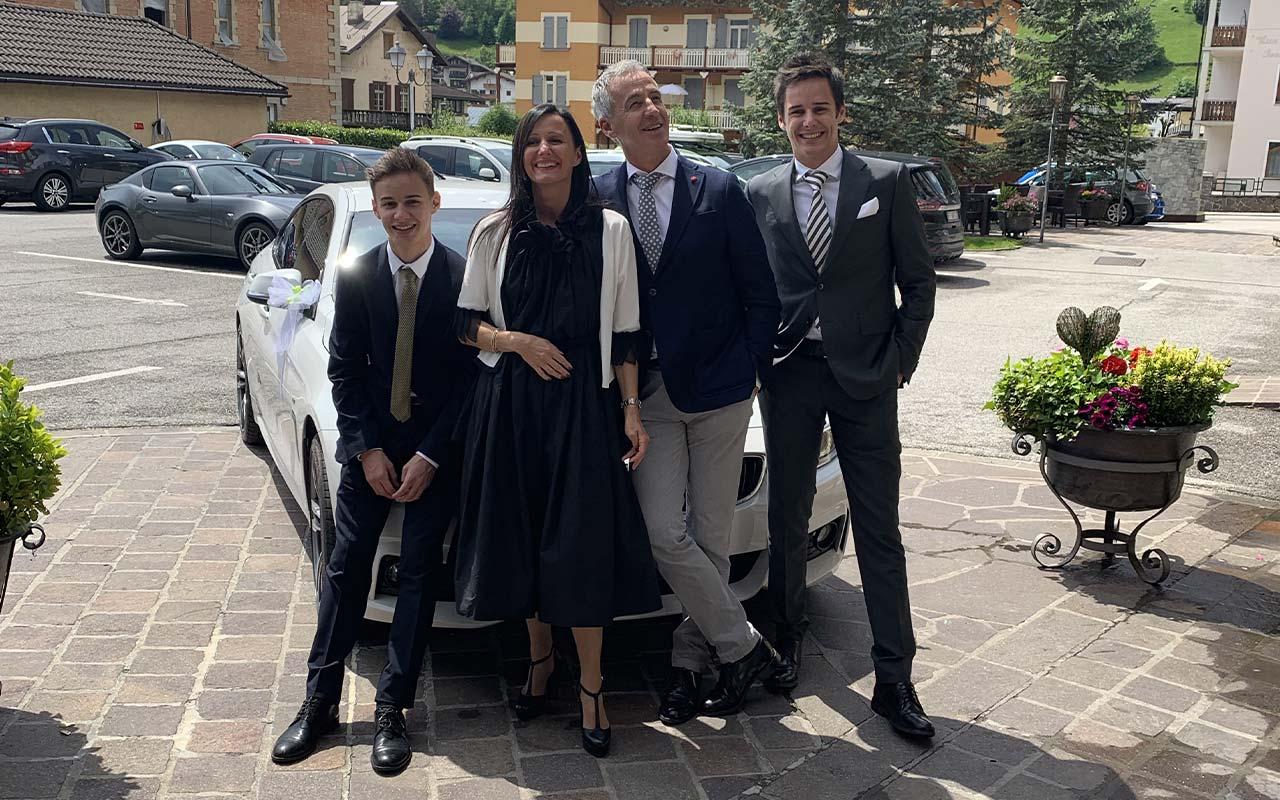 Famiglia Bettega ed il Bivio
